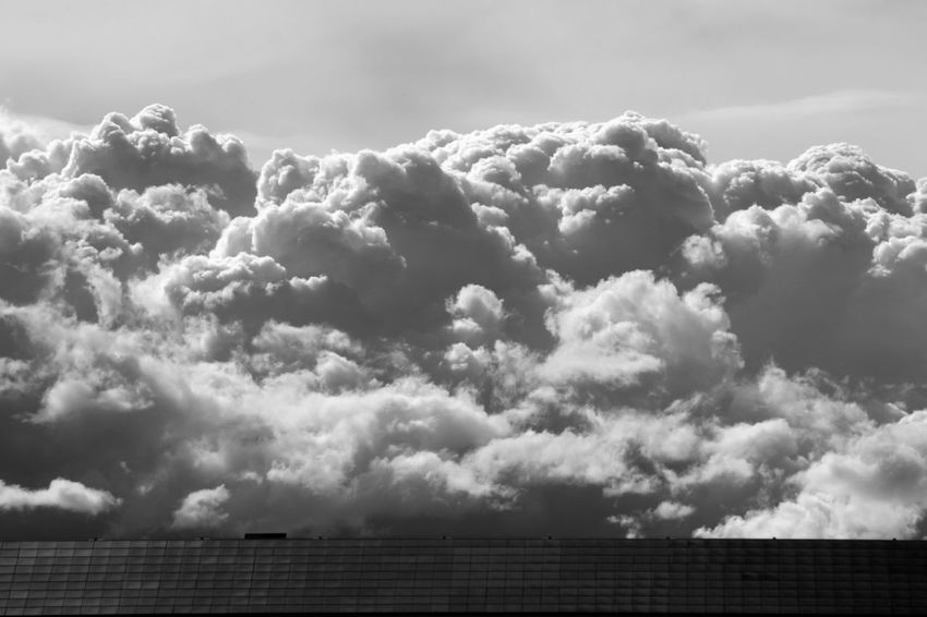Cloud - Sky Solar Panels Outdoors Day No People Sky Nature Beauty In Nature Rural Scene HJB Weather Photography Energy Blackandwhite Blackandwhite Photography Black And White Outdoor Photography Nature