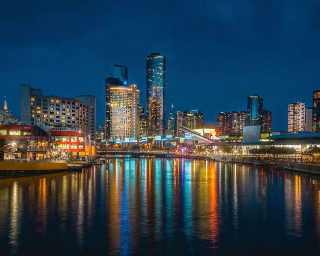 EyeEm Selects City Cityscape Urban Skyline Illuminated Skyscraper Modern Nightlife Ferris Wheel Business Finance And Industry City Life