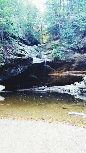 Waterfall on