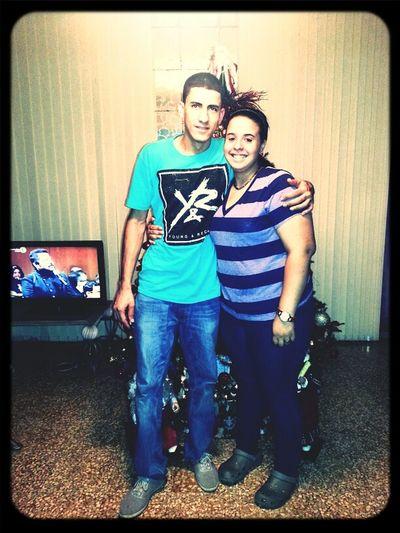 Con El Big Bro. Te Amo
