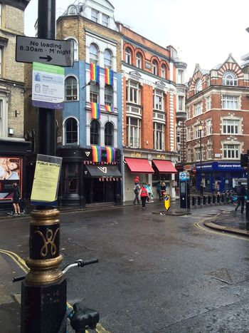 Street View Architecture CF Direction Gay Lgbt Gaypride Soho London