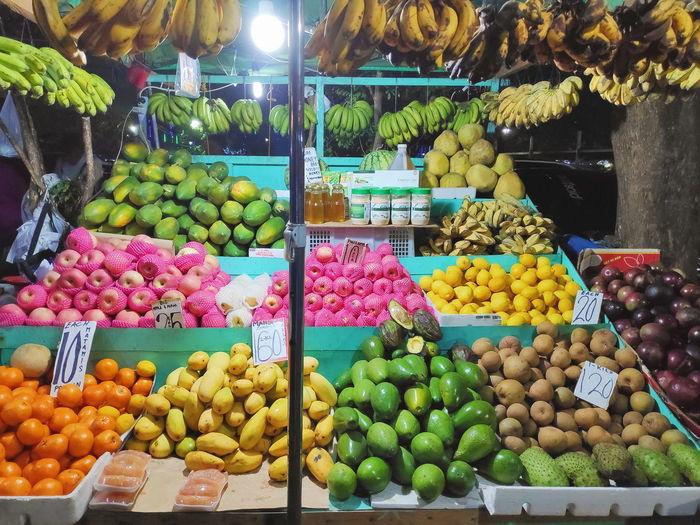 colours Fruits