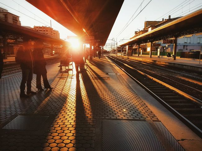 Goodmorning Hello World Sunshine Sunshineaddicted Sunshine! Good Morning Travel Transportation City Tourist Railroad Station Platform Sky Day Cities Look Better In The Sunshine Traveling Home For The Holidays Street Photography Streetphotography Urban Landscape Urbanphotography Light And Shadow City Lovers Cityscape EyeEmNewHere The City Light Neighborhood Map Paint The Town Yellow