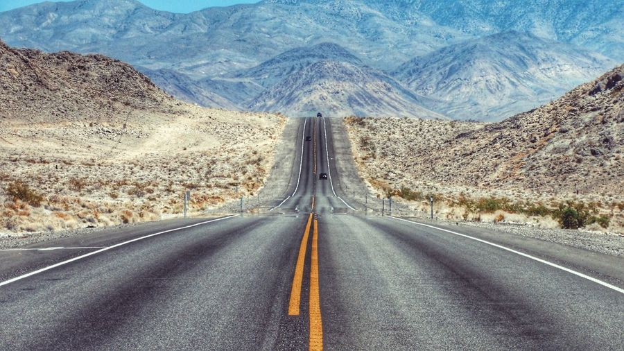 Travel Destinations Beauty In Nature Sun Outdoors Traveling Nature Tranquil Scene Light And Shadow Landscape Scenics Tourism Travel Sunshine California Death Valley Nevada Road Roadtrip Road Trip Roads
