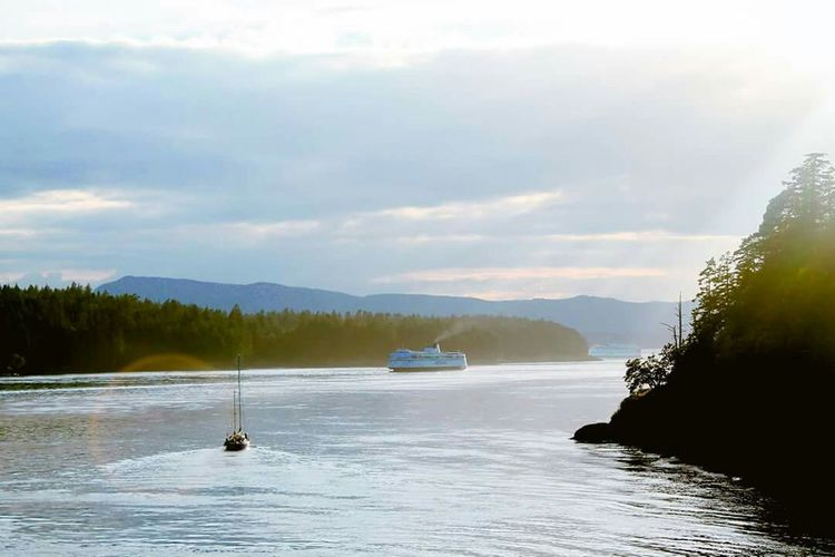 Learn & Shoot: Layering Vancouver Island Ferry