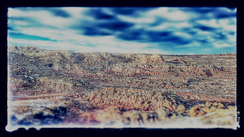 Badlands Gooseberry Worland Hells Kitchen  Erosion Rock Formation Sagebrush Majestic Physical Geography Arid Climate Landscape Wyoming Worland WY Rugged Rough Remote Outdoors Beauty In Nature Post Processing Filtered Image Tranquility Tranquil Scene Nature Horizon Over Land Non-urban Scene