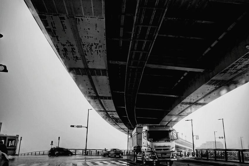 Rany Day Raining Rain Highwayphotography Highway Highways Blackandwhite Black And White Blackandwhite Photography Monochrome