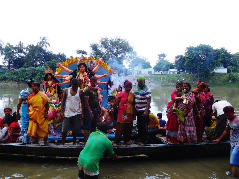 Immersion The Holy Goddess Durga