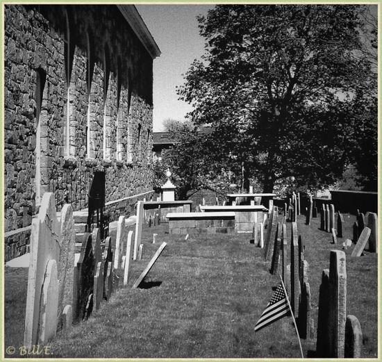 Blackandwhite Bw_collection Landscape_Collection Church Graveyard...