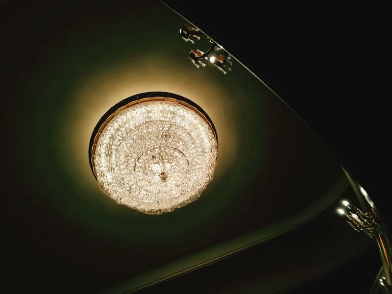 Chandelier Illuminated Light Stage Theater