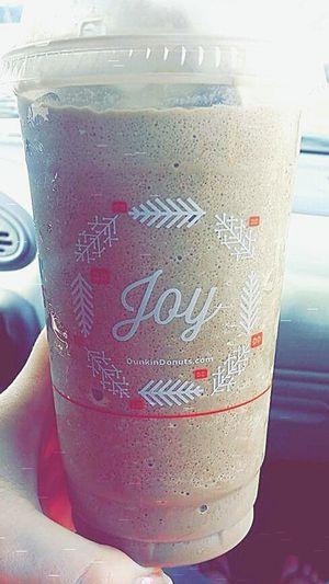 My Winter Favorites Icedcoffee Joy Dunkin Donuts Snickerdoodle