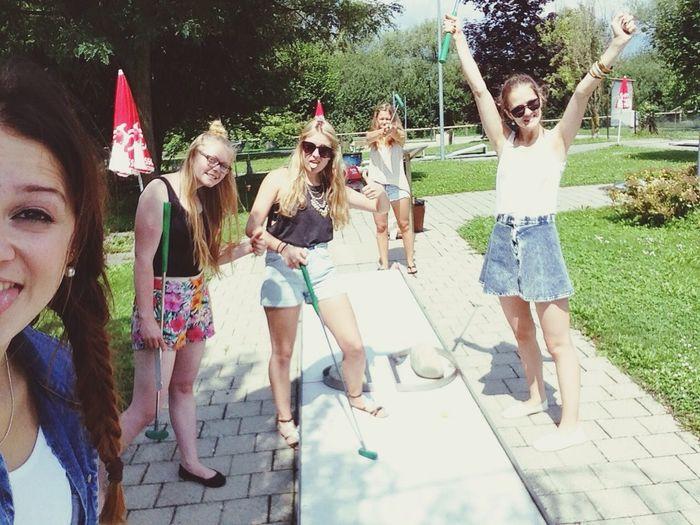 Minigolf Estavayer Le Lac Having Fun Best Friends