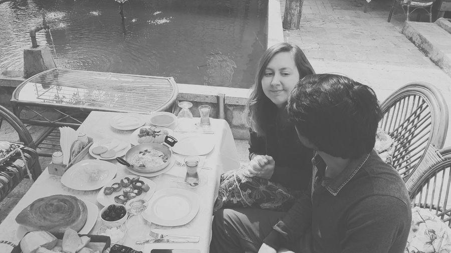Bağlar Konak, Safranbolu. Enjoying Life Kahvaltı Turkish Breakfast Safranbolu Safranboluevleri Karadeniz Blacksea Black & White Anniversary Yıldönümü Kahvaltızamanı Kahvaltıkeyfi Couple
