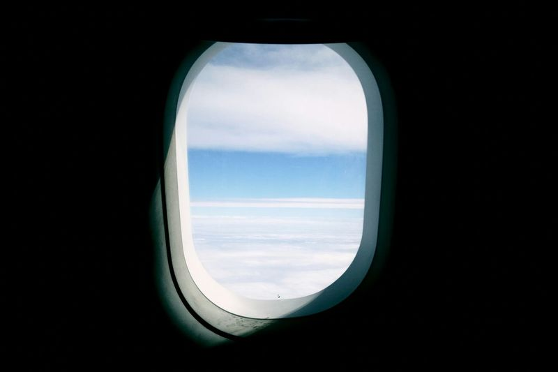 Flight ✈ Travel Sky Clouds First Eyeem Photo 비행 여행 두근두근