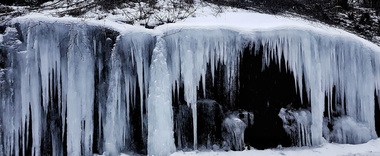 Ice Icy Snow Cold Temperature Winter No People Water Nature Day