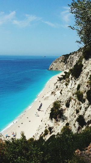 Lefkas Lefkada Summer2015 Greece Summer Beach Egremni Egremnibeach