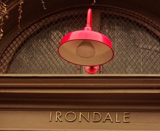 Red Lamp Vintage