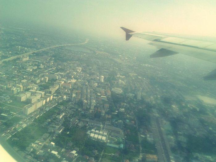 Viewfromtheplane From An Airplane Window Beautiful City Hello World