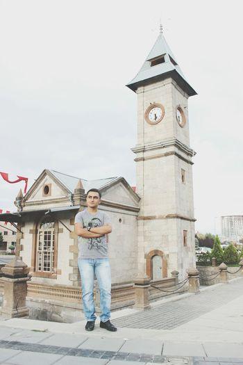 Kayseri Meydan Abdulhamid Tarihi Saat kulesi