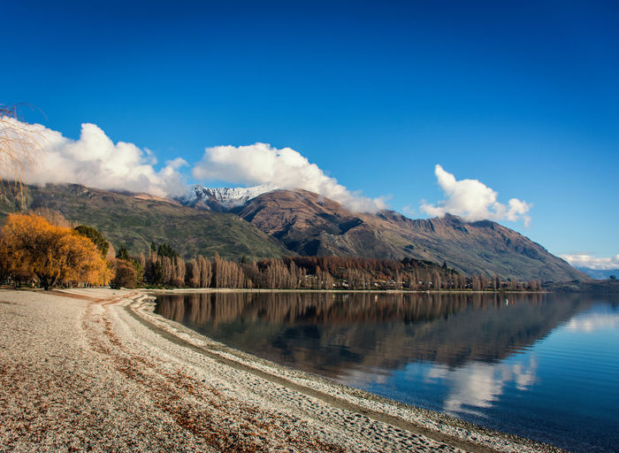 Autumn Mood Scenics - Nature Outdoors Beauty In Nature EyeEmNewHere Nature Landscape Lifestyles Mountain Leisure Activity Tranquility Sky Water Tranquil Scene Lake No People Mountain Range Environment