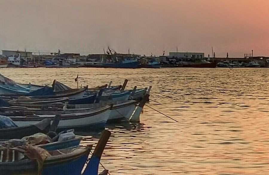 """""""Lost time is never found again"""" (B.Franklin) Fisherboats  Seaside Eyem Best Shots EyeEm Best Edits Getting Inspired Dusk Sunset Silence"""