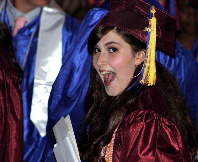 Portrait Of A Happy Student At Graduation