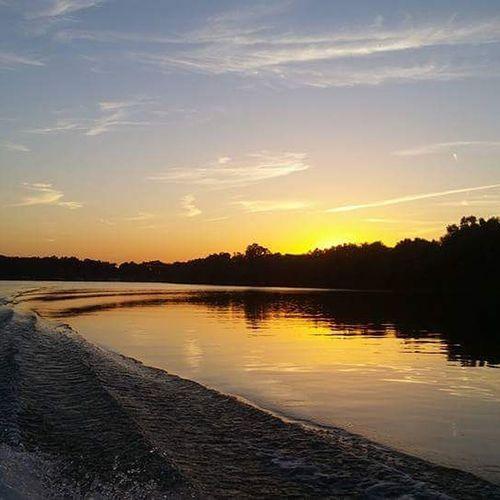 Grand Lake Of The Cherokee's Elk River, Relaxing Enjoying Life