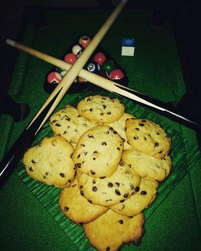 Cookies Gourmandises Food Billard Table Justepourlaphoto