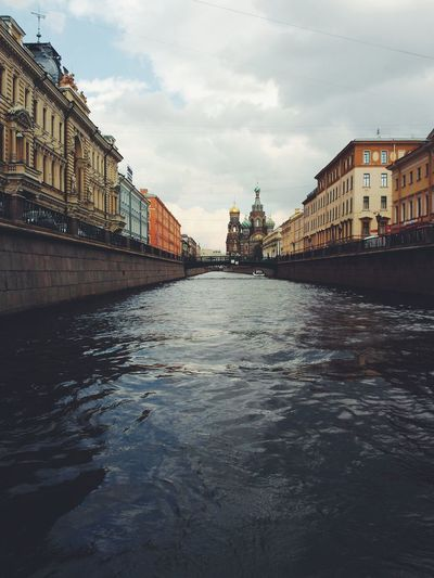 Saint Petersburg Saint-Petersburg Griboedov Channel Griboyedov Canal Spas Na Krovi Neva Neva River River Architecture Water Outdoors Cityscape Sky And Clouds No People The Great Outdoors - 2017 EyeEm Awards The Architect - 2017 EyeEm Awards Be. Ready.