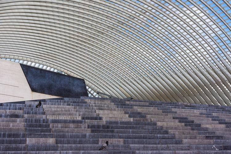 Pattern Built Structure Architecture No People Architekturfotografie Canoma Photography S7edgephotography S7edge S7 Edge Photography Railway Station Central Station Lüttich Liège Architecture Belgium