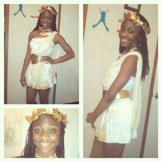 My Halloween Costume .. Glitzy Goddess