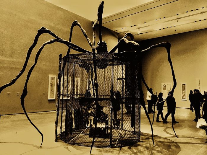 Museum New York Moma Spider EyeEmNewHere Arts Culture And Entertainment Indoors  Stage - Performance Space People EyeEmNewHere