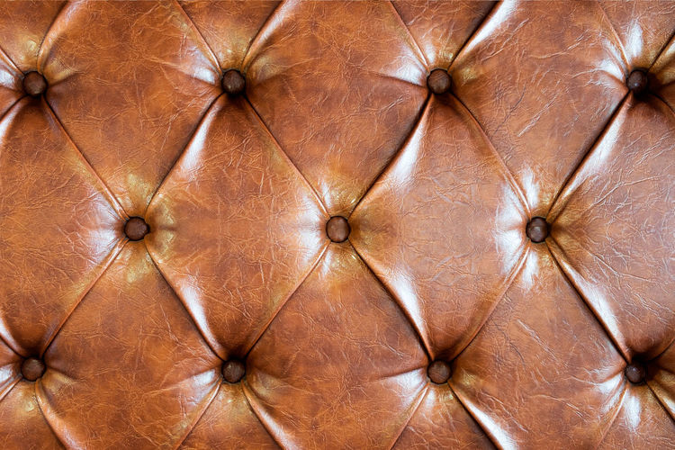 Full Frame Image Of Chesterfield Sofa