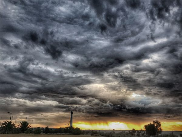 Cloud - Sky Sky Beauty In Nature Scenics - Nature Storm Nature No People