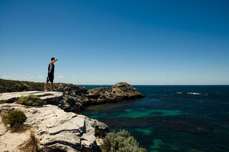 Jeannies Lookout - Rottnest Island Australia Jeannies Lookout Rottnest Island Blue Nature Sea Water