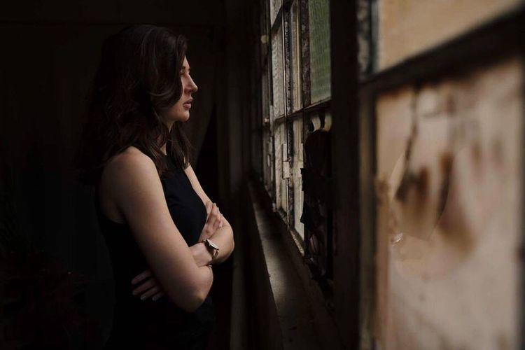 Places series Beautiful Woman The Portraitist - 2017 EyeEm Awards Abandoned Places Pretty Girl Pretty Woman Beautiful Girl Windows Light Window Windows Open Edit