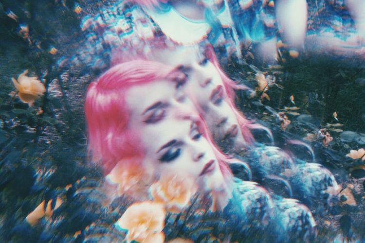 Flower child Organsinsleep Laurenluck Neonlolita Pink Flora Women Beauty Goddess Prism Nature Colors Woman Mothernature 35mm Film Botanical Sensual_woman Aura