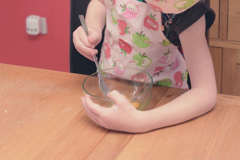 little girl baking cookies. Cooking Ingredients Sugar Balking Chef Child Cookie Cookie Dough Egg Flour Mixing Rolling Stirring