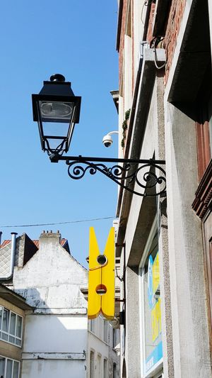 Randomness Yellow Peg Blue Sky Street_lights Streets Of Brussels Good Times