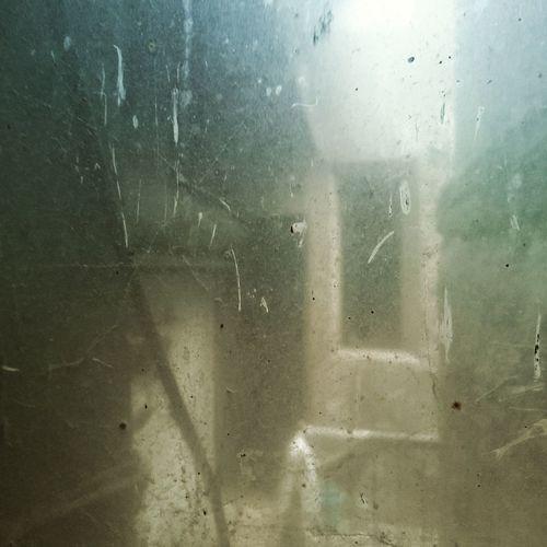 Full frame shot of water in window