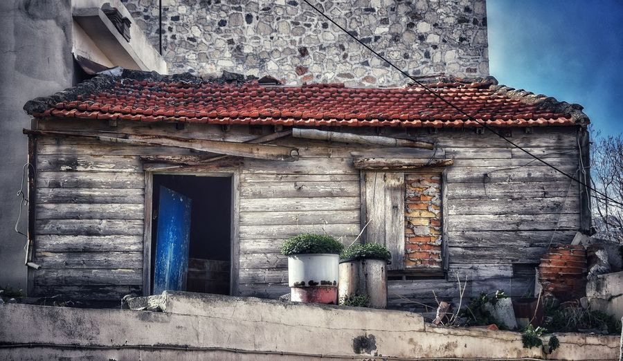 #old #oldhouse #oldtown #melancholy #colors #windows #door Architecture Built Structure Building Exterior Day No People Industry Outdoors