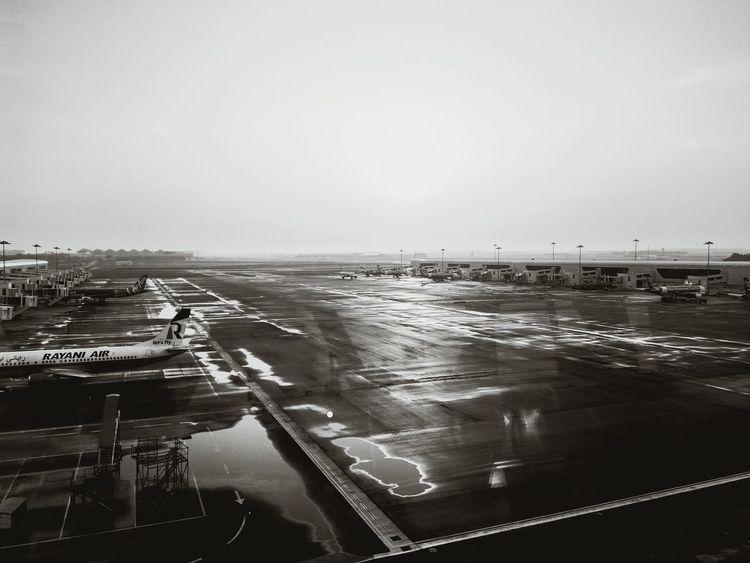 Airport Malaysia After The Rain Blackandwhite First Eyeem Photo