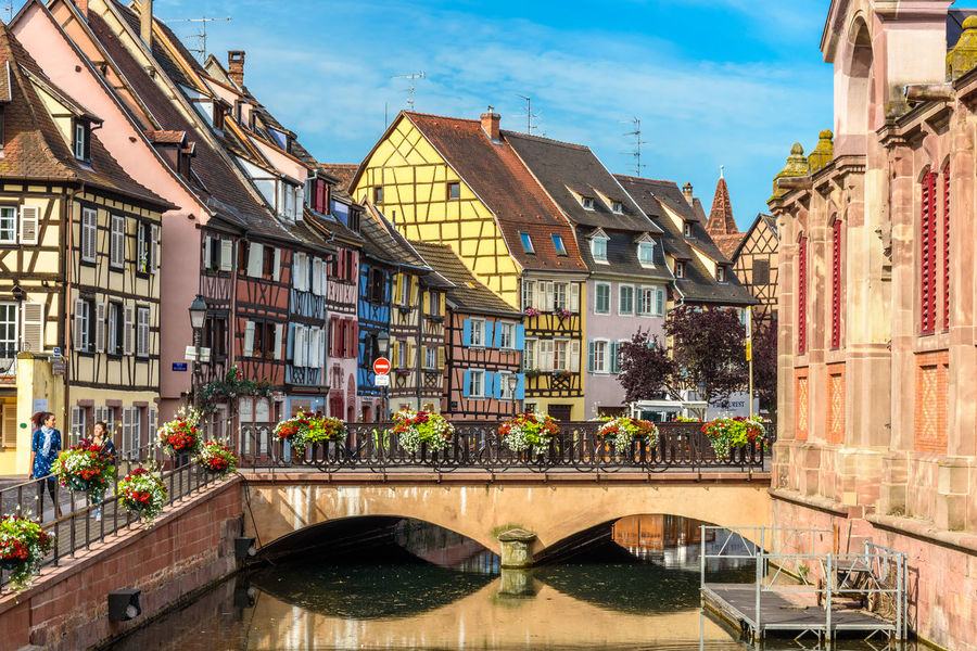 Alsace Architecture Building Exterior Built Structure City Cloud - Sky Day No People Outdoors Sky Water