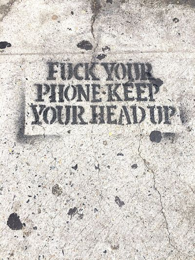 Message Street Art Technology Tech Age NYC Youth Of Today