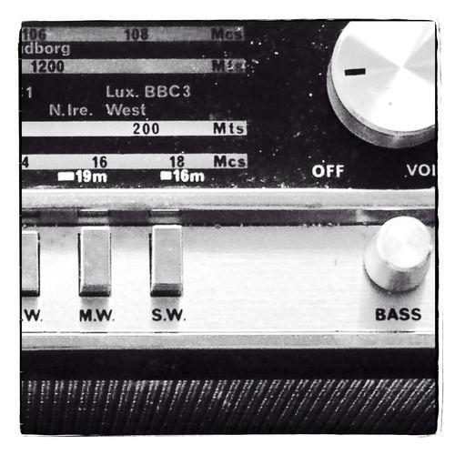 Close-up Communication Detail Full Frame Monochrome Radio Radio Closeup Retro RETRO Radio  Vintage Vintage Radio