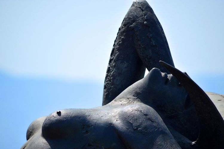 Blue Sea No People Sky Stone Material Storytelling Italy Erotic_photo Erotic_art NippleLove Scilla First Eyeem Photo