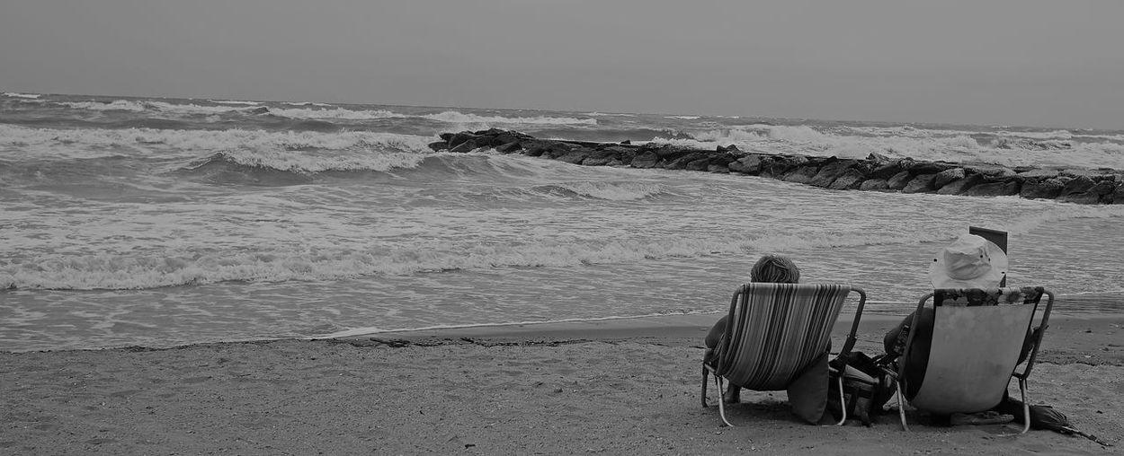 View of sea at beach