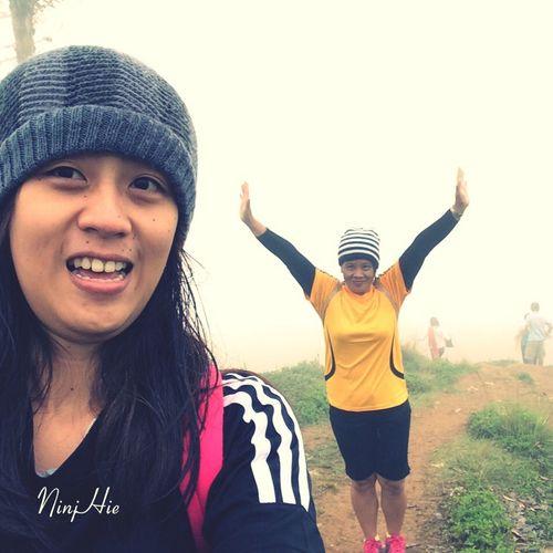 She may be my mom but she's always a buddy to me. Best Buddy Ever 1st Trekking Osmeña Peak Eyeem Cebu NinjHie Outdoorsy