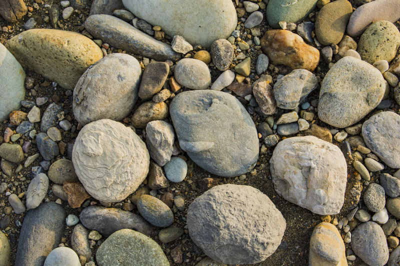 石头 鹅卵石 河滩 河边 溪流 河流 Backgrounds Full Frame Large Group Of Objects No People Beach Outdoors Nature