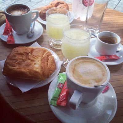 Good Morning Breakfast Coffee Food